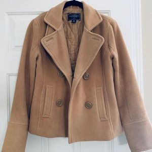 American Eagle Peacoat, Winter Coat, Heavy Jacket.